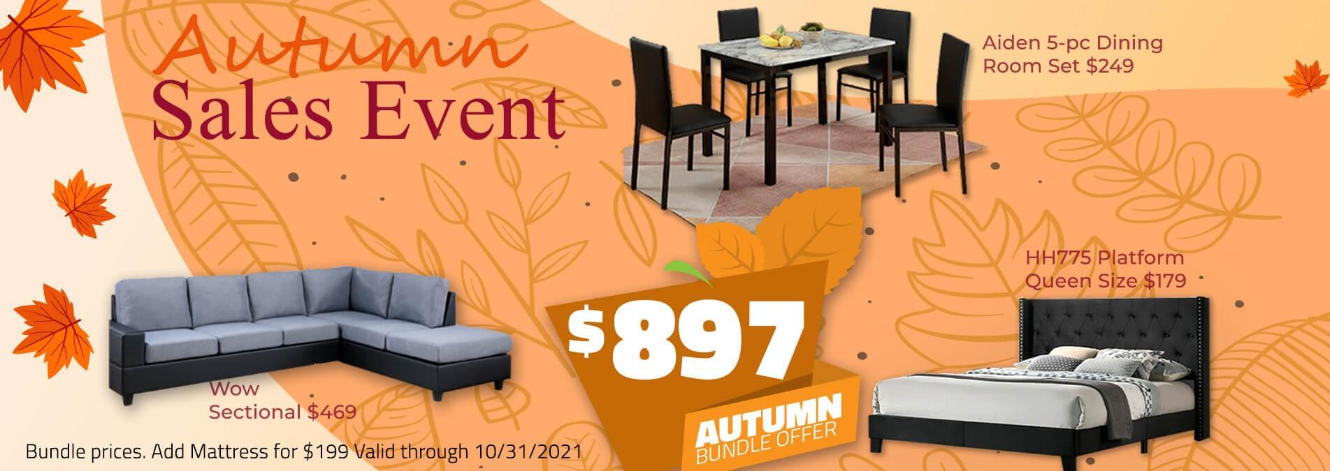 Autumn Sales Event